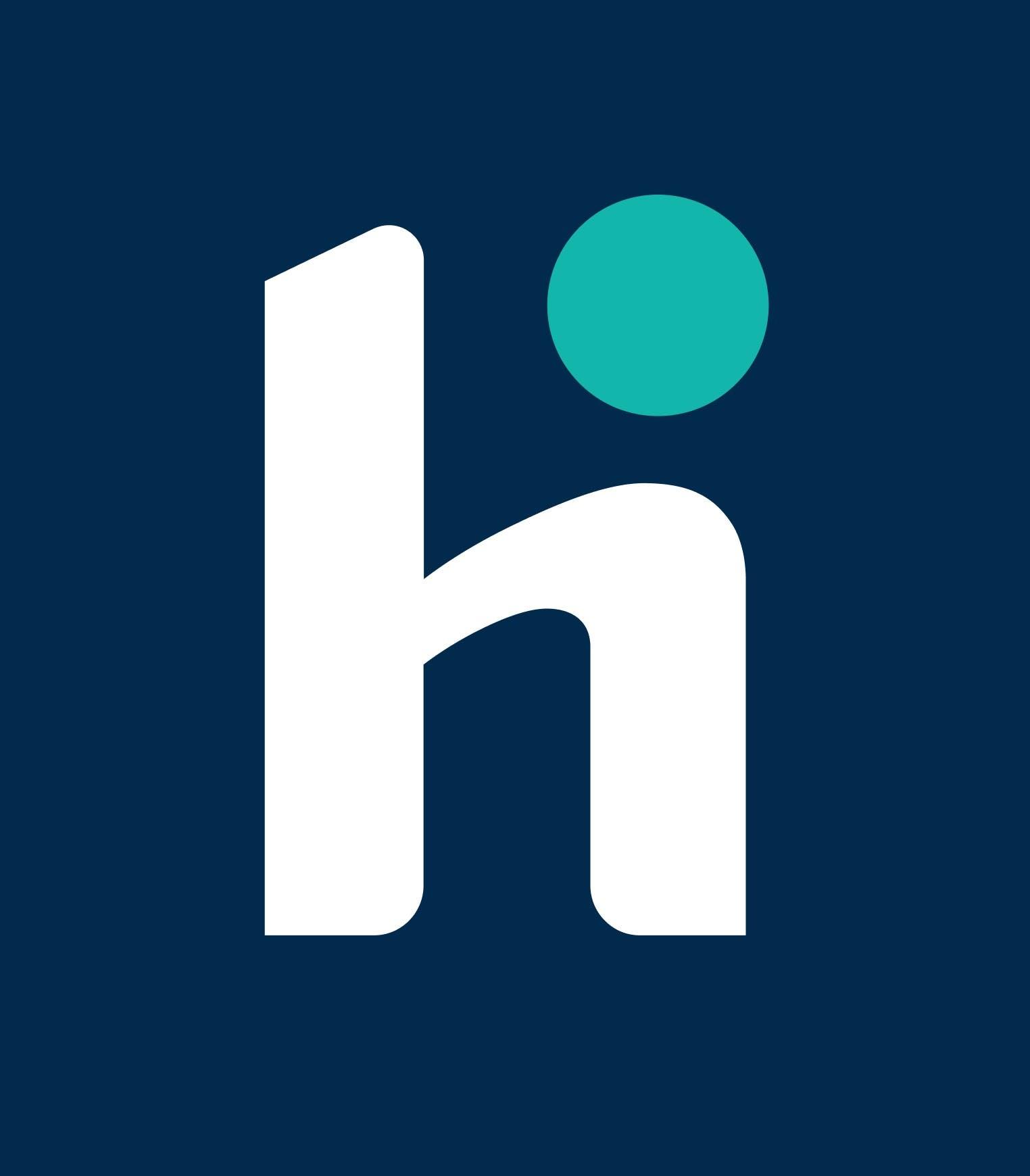 Human Interest Logo Blue